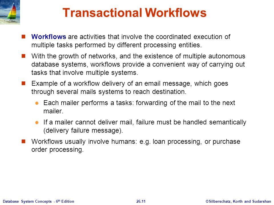 Transactional Workflows