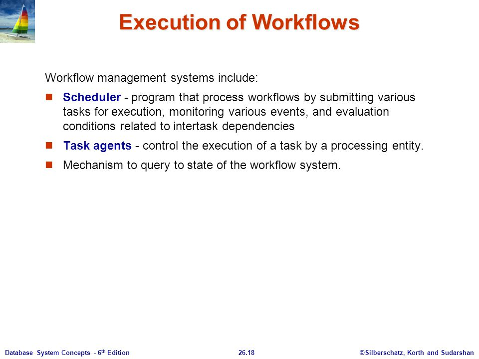 Execution of Workflows