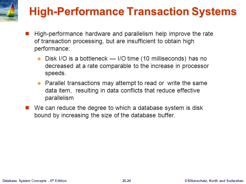 High-Performance Transaction Systems