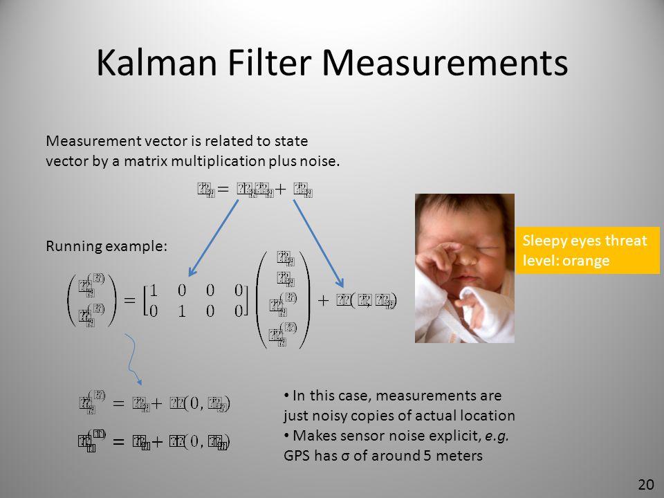 Kalman Filter Measurements