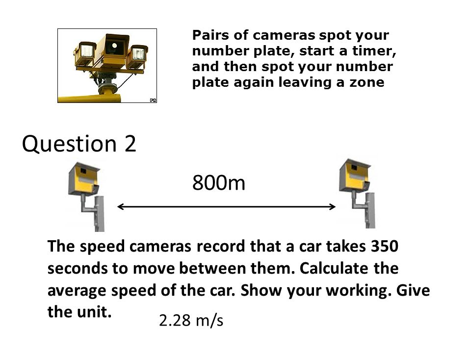 Pairs of cameras spot your number plate, start a timer, and then spot your number plate again leaving a zone
