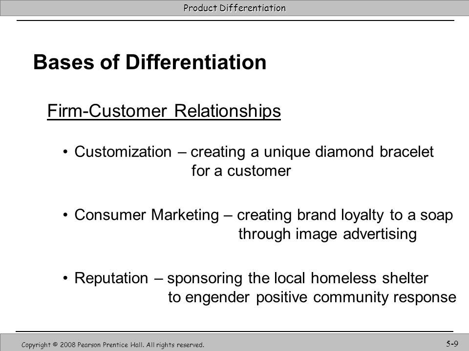 Firm-Customer Relationships
