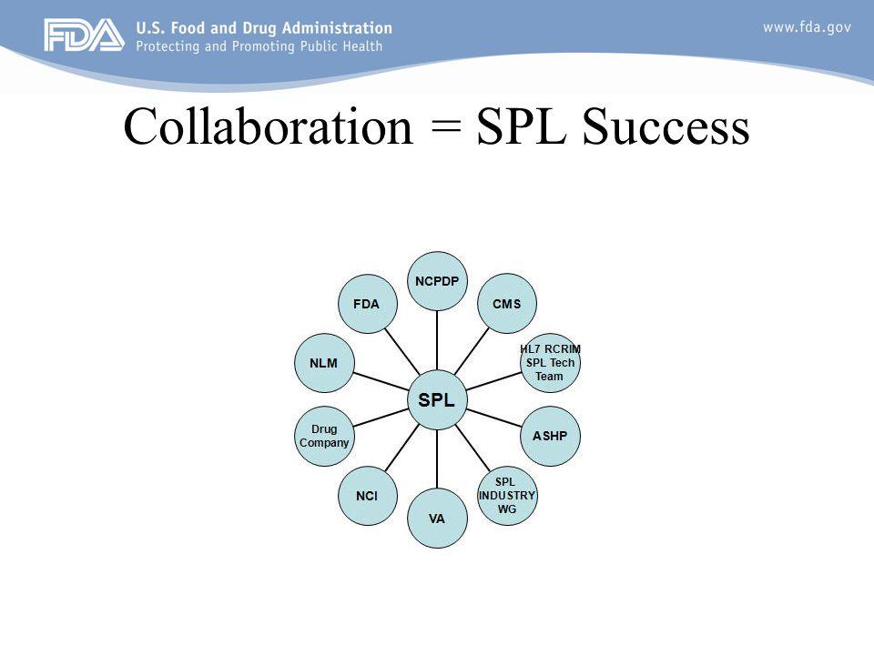 Collaboration = SPL Success