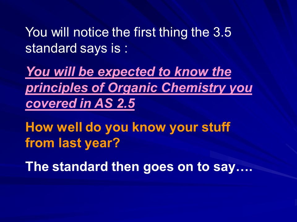 You will notice the first thing the 3.5 standard says is :