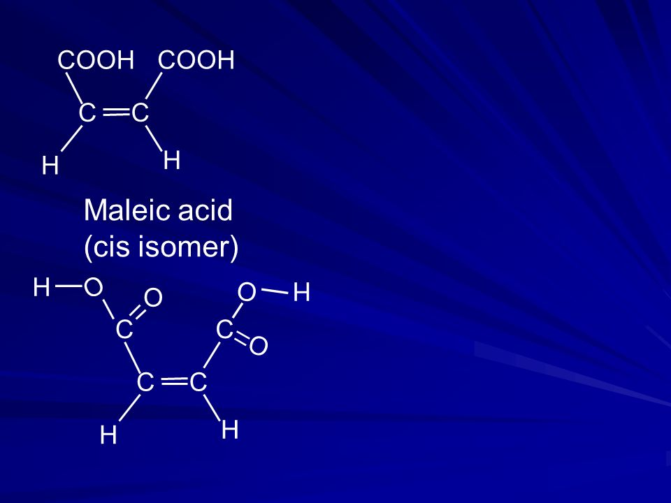 Maleic acid (cis isomer)