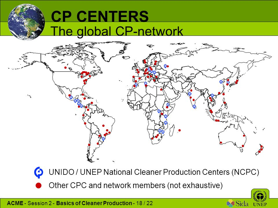 CP CENTERS The global CP-network