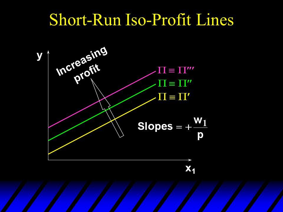 Short-Run Iso-Profit Lines