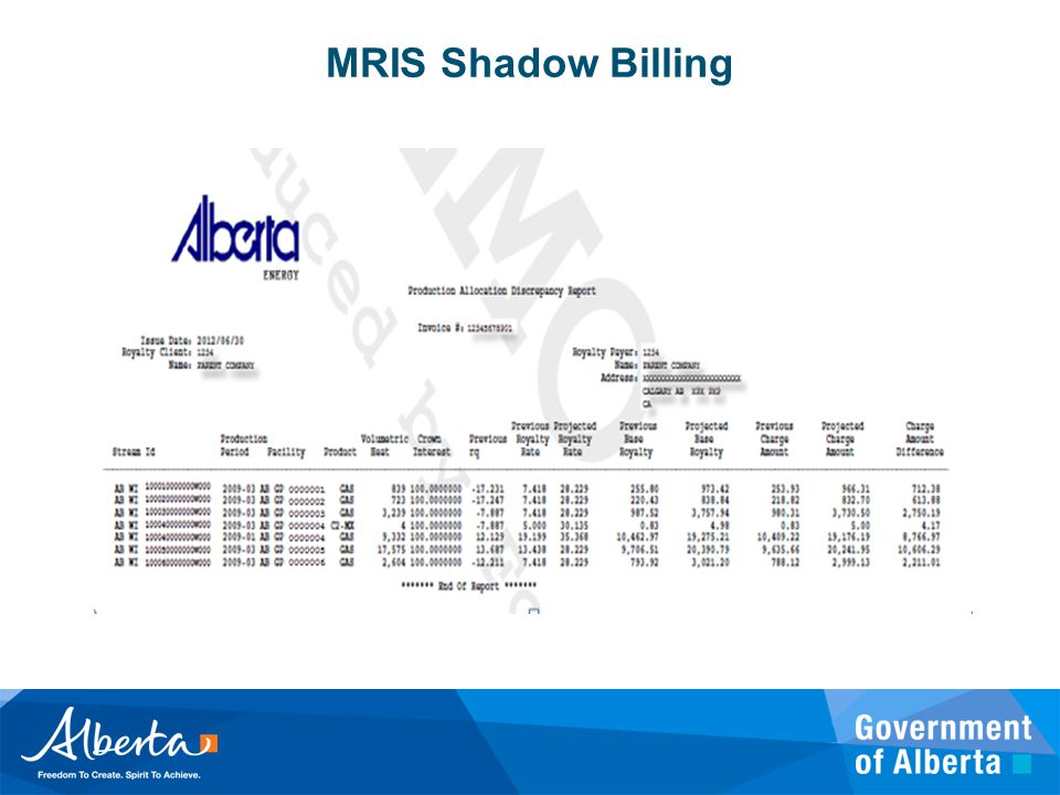 MRIS Shadow Billing