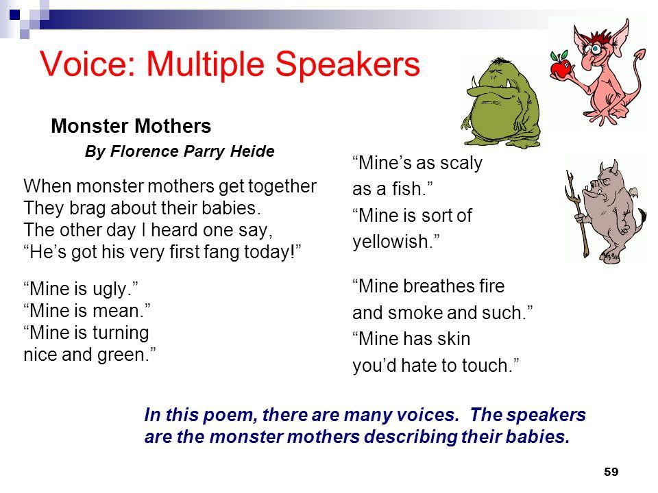 Voice: Multiple Speakers
