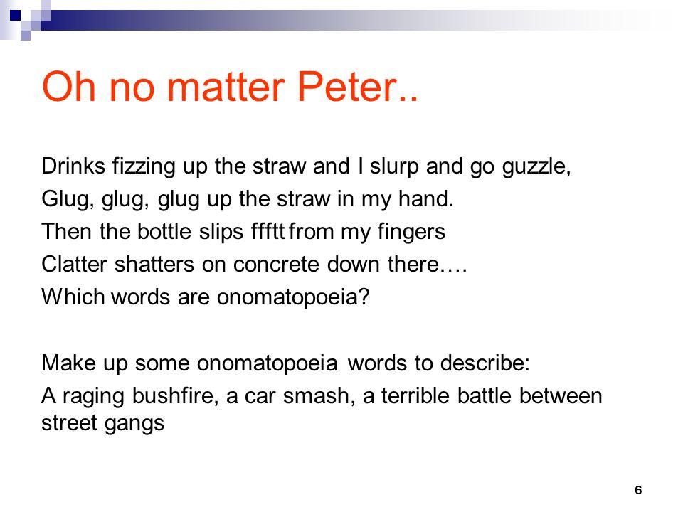 Oh no matter Peter..