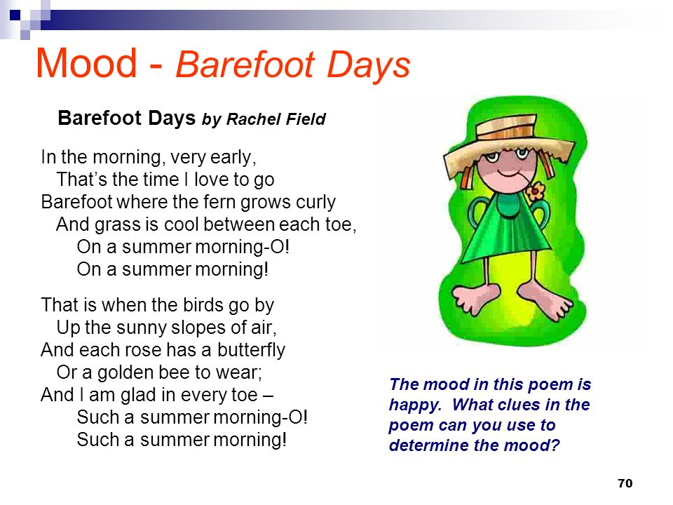 Mood - Barefoot Days Barefoot Days by Rachel Field