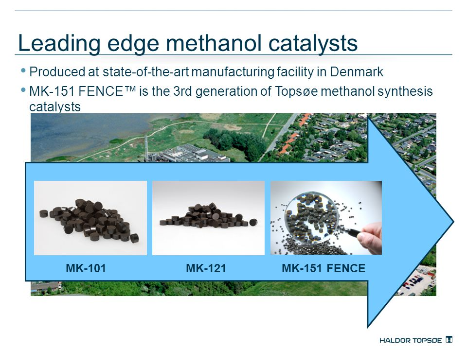 Leading edge methanol catalysts