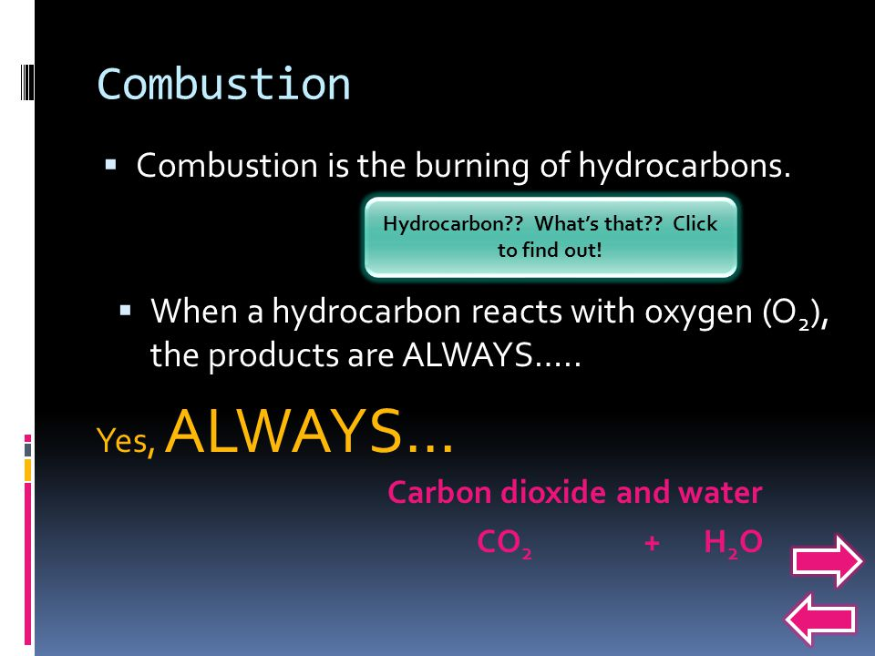 Hydrocarbon What's that Click to find out!