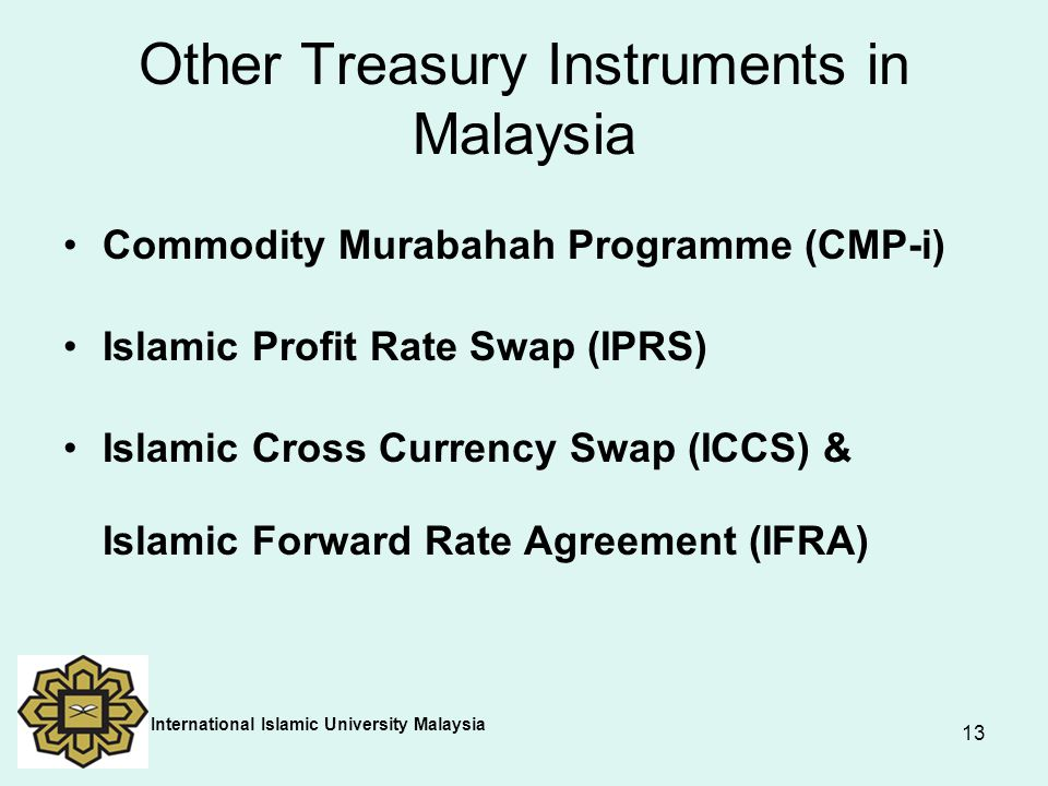 Other Treasury Instruments in Malaysia