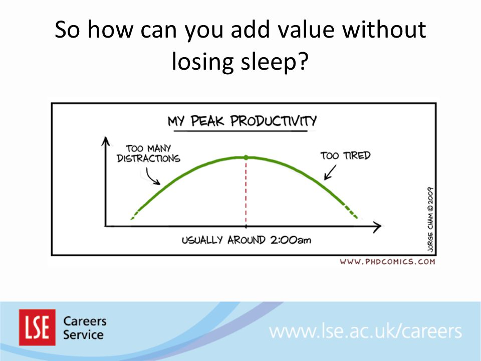 So how can you add value without losing sleep
