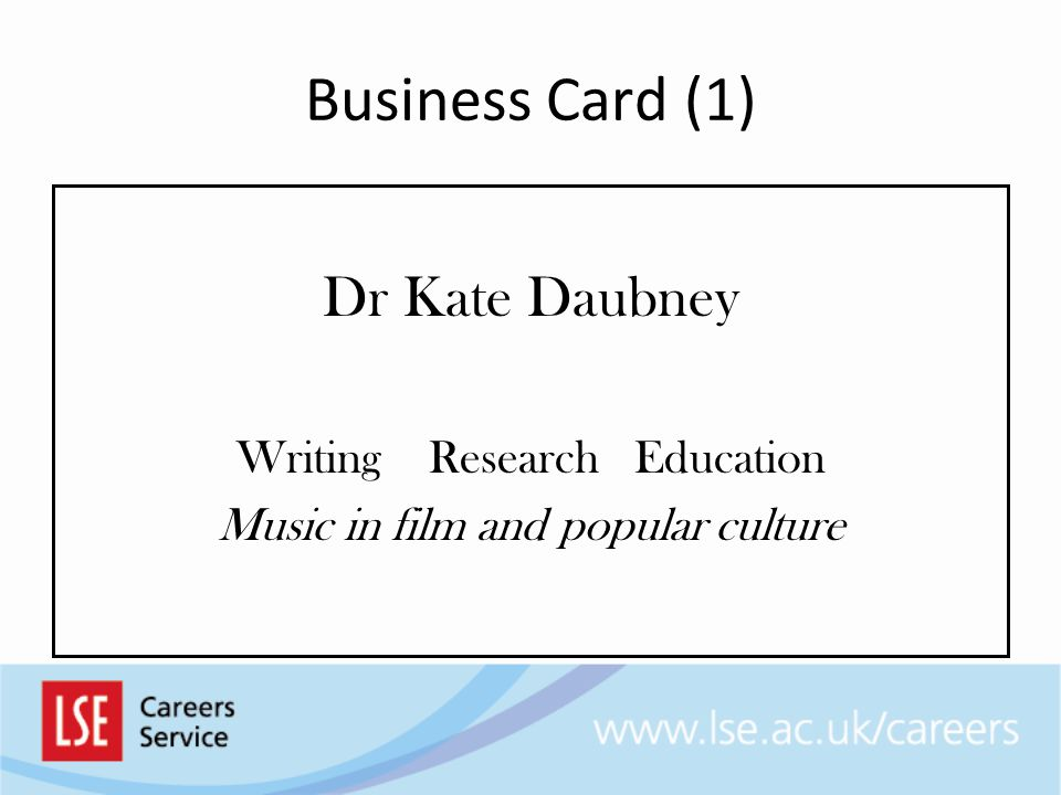 Business Card (1) Dr Kate Daubney Writing Research Education