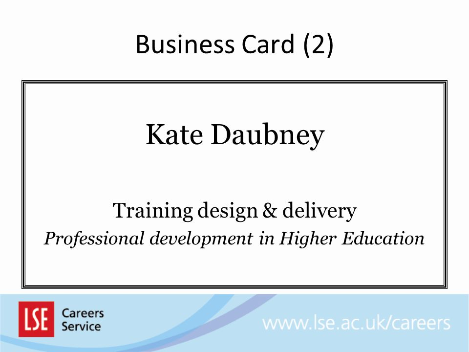 Business Card (2) Kate Daubney Training design & delivery