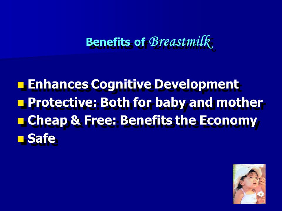 Benefits of Breastmilk