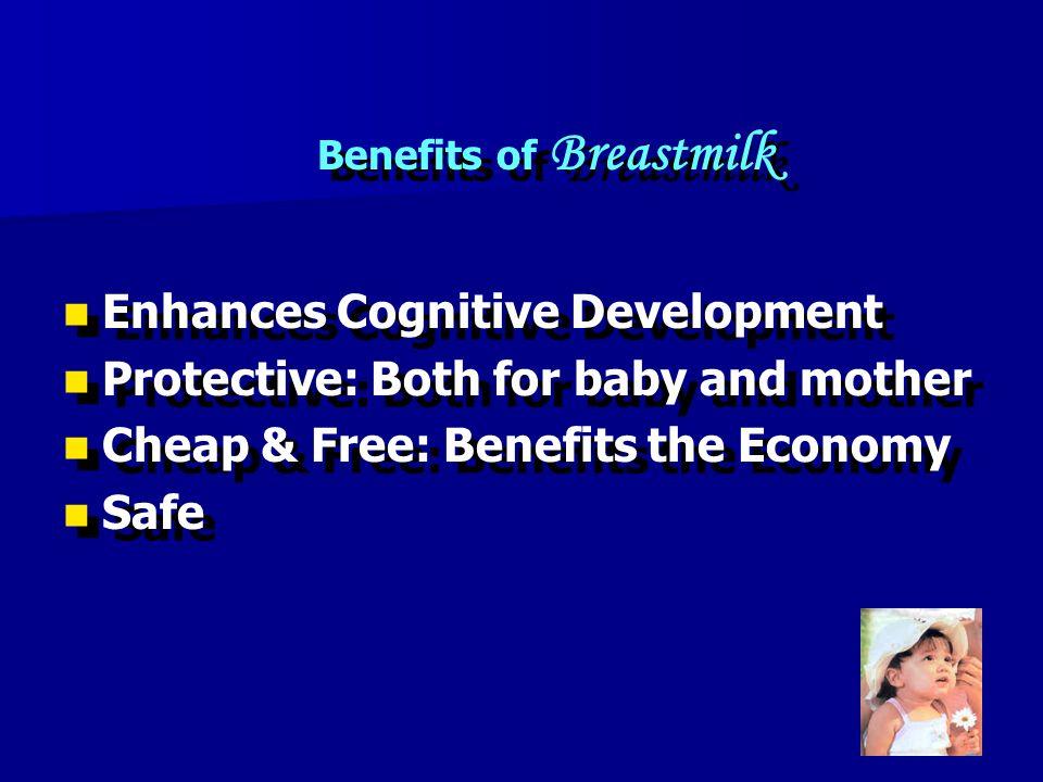 Benefits of Breastmilk