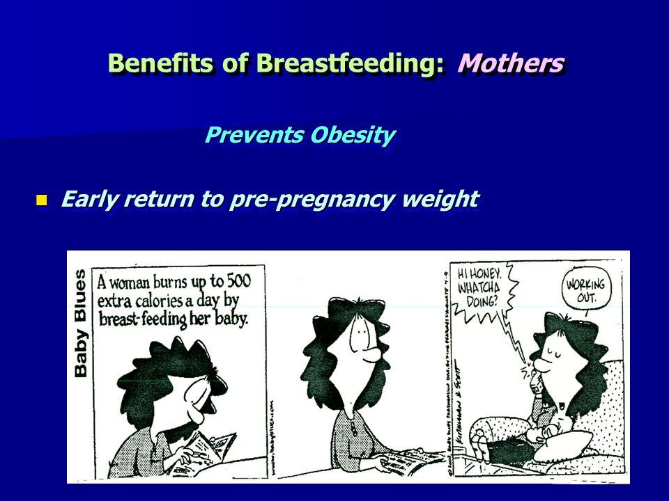 Benefits of Breastfeeding: Mothers