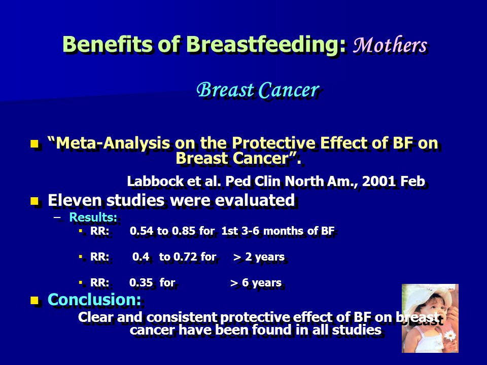 Benefits of Breastfeeding: Mothers