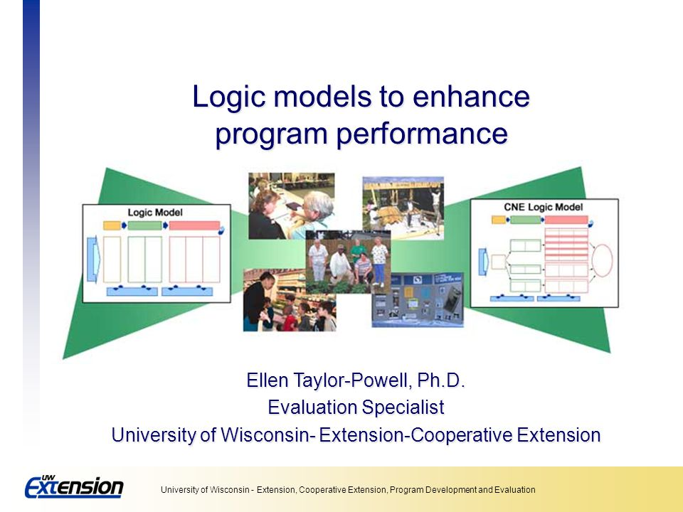Logic models to enhance program performance