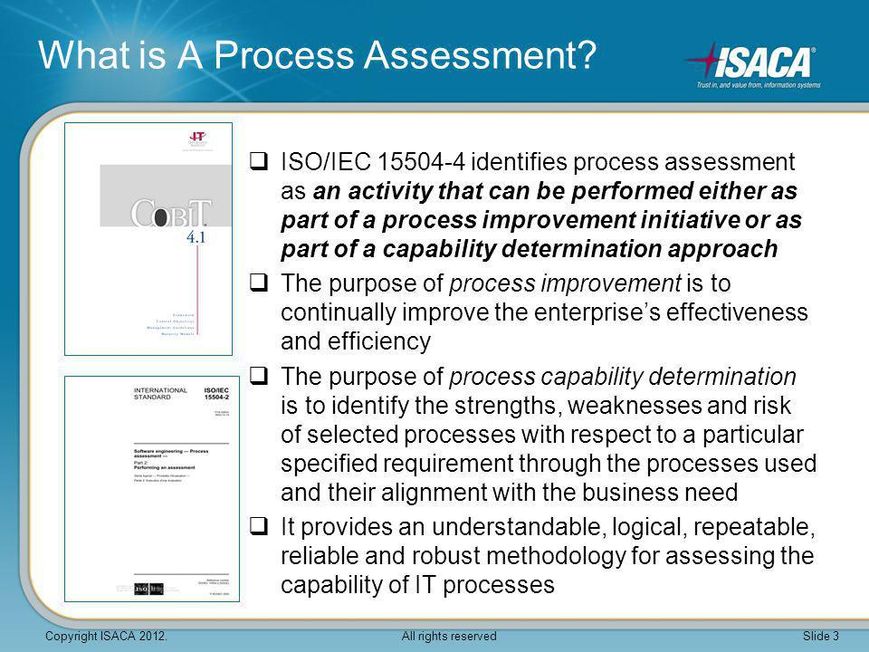 What is A Process Assessment