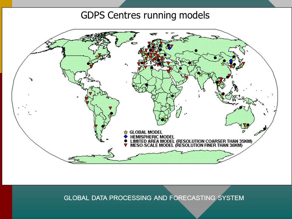 GDPS Centres running models