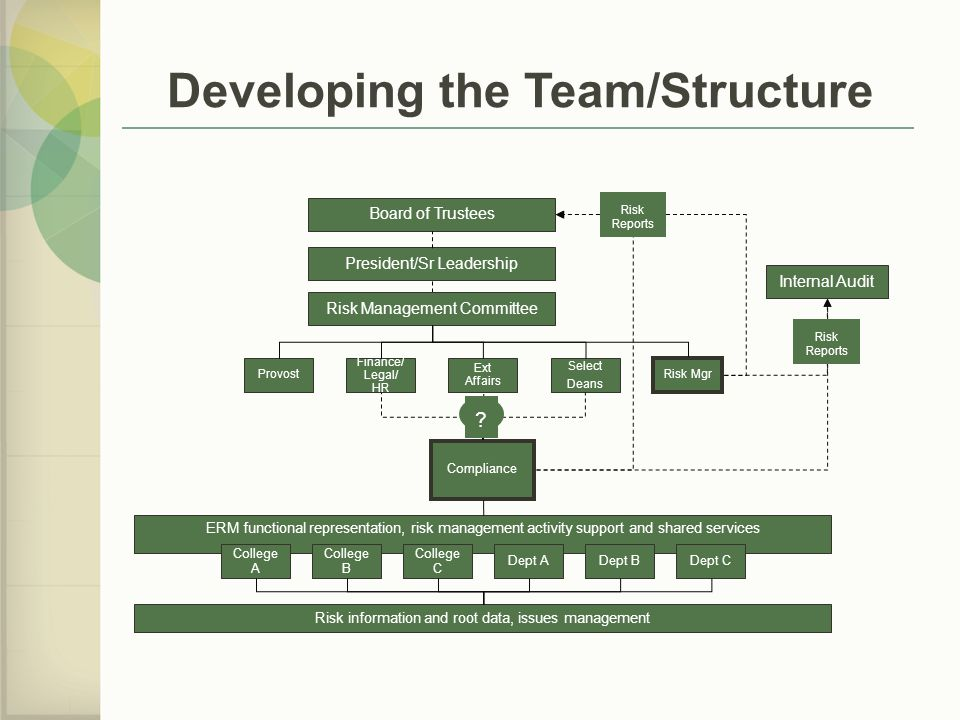 Developing the Team/Structure