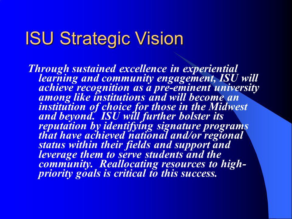 ISU Strategic Vision