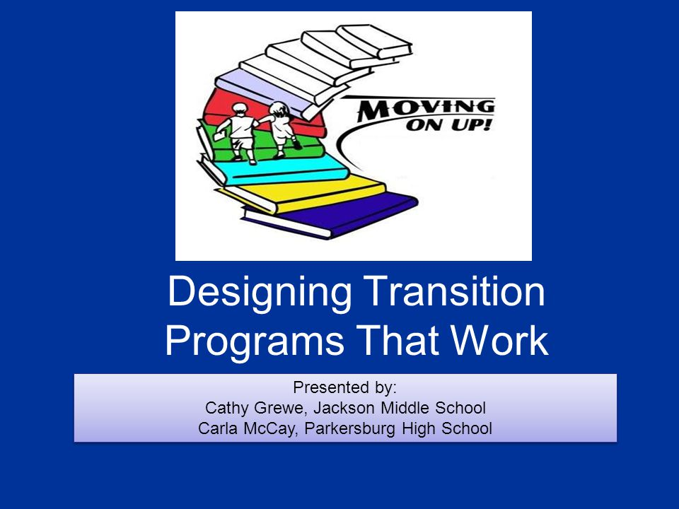 Designing Transition Programs That Work