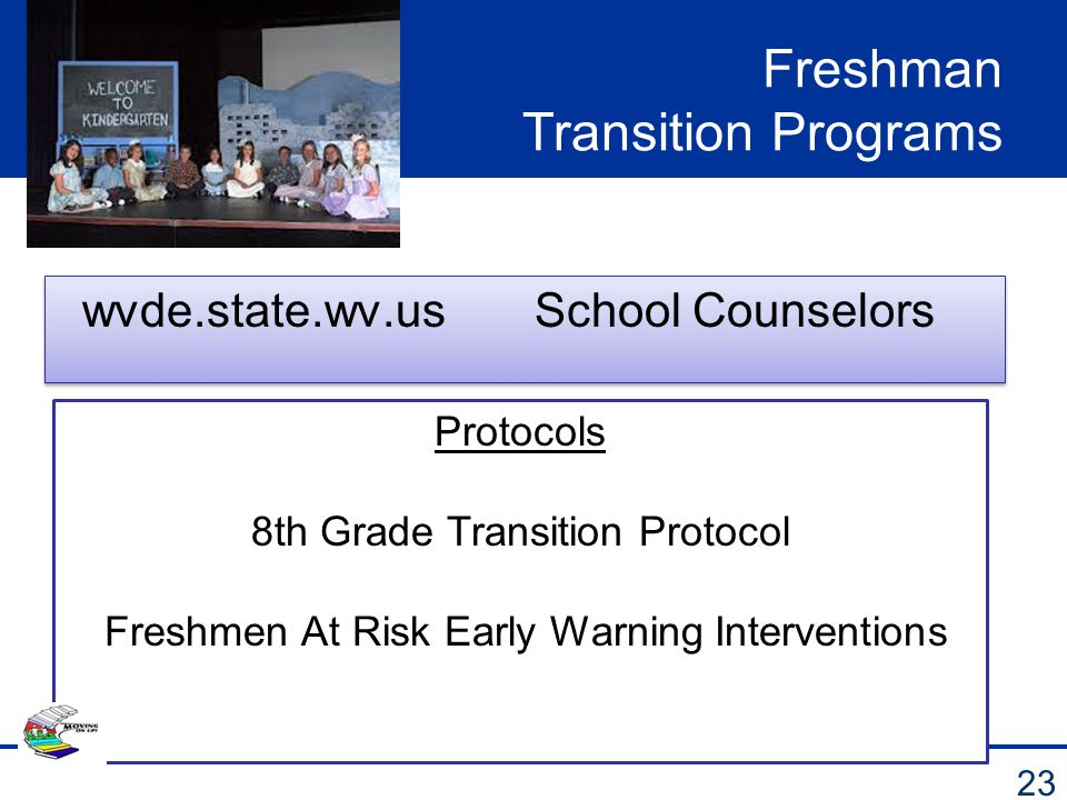 Freshman Transition Programs