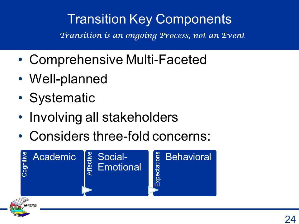 Transition Key Components