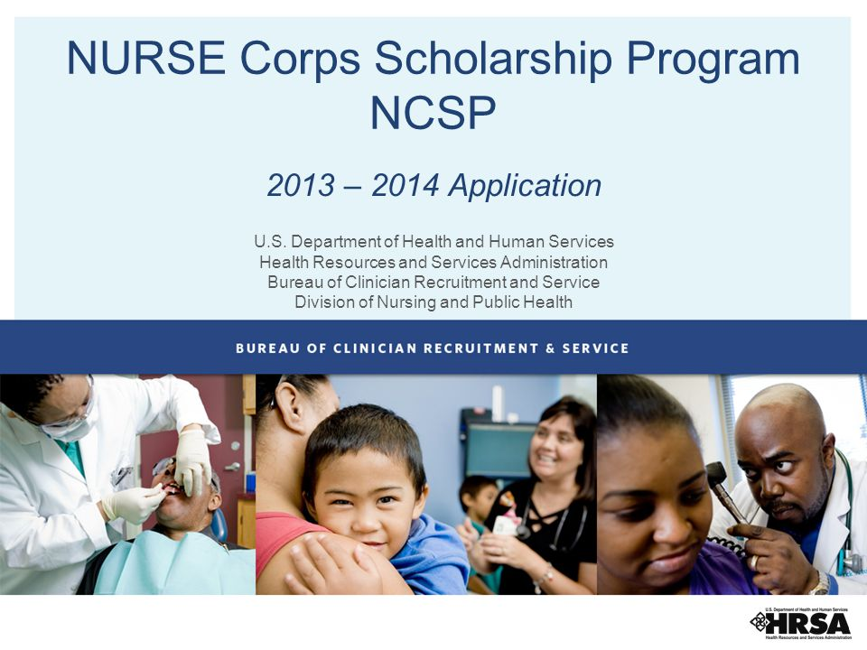 NURSE Corps Scholarship Program NCSP