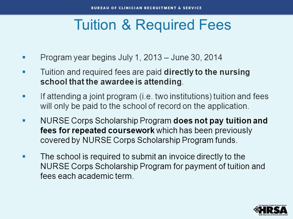 Tuition & Required Fees