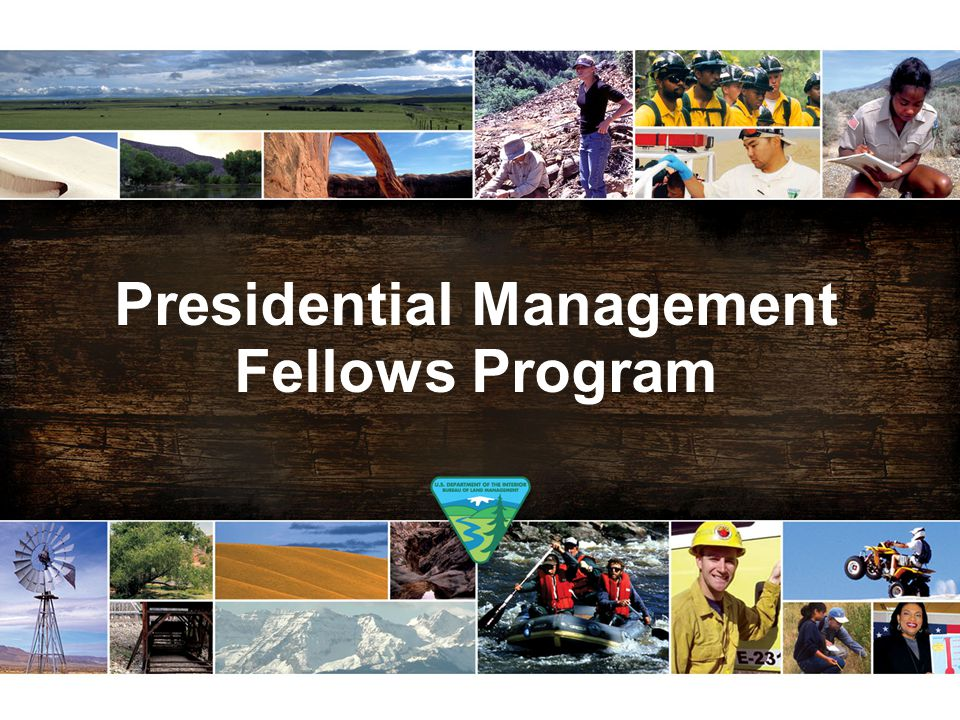 Presidential Management Fellows Program