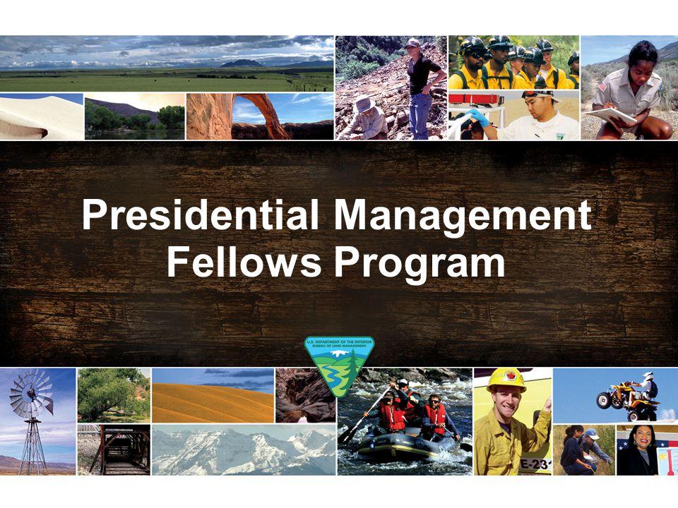 Presidential Management Fellows Program