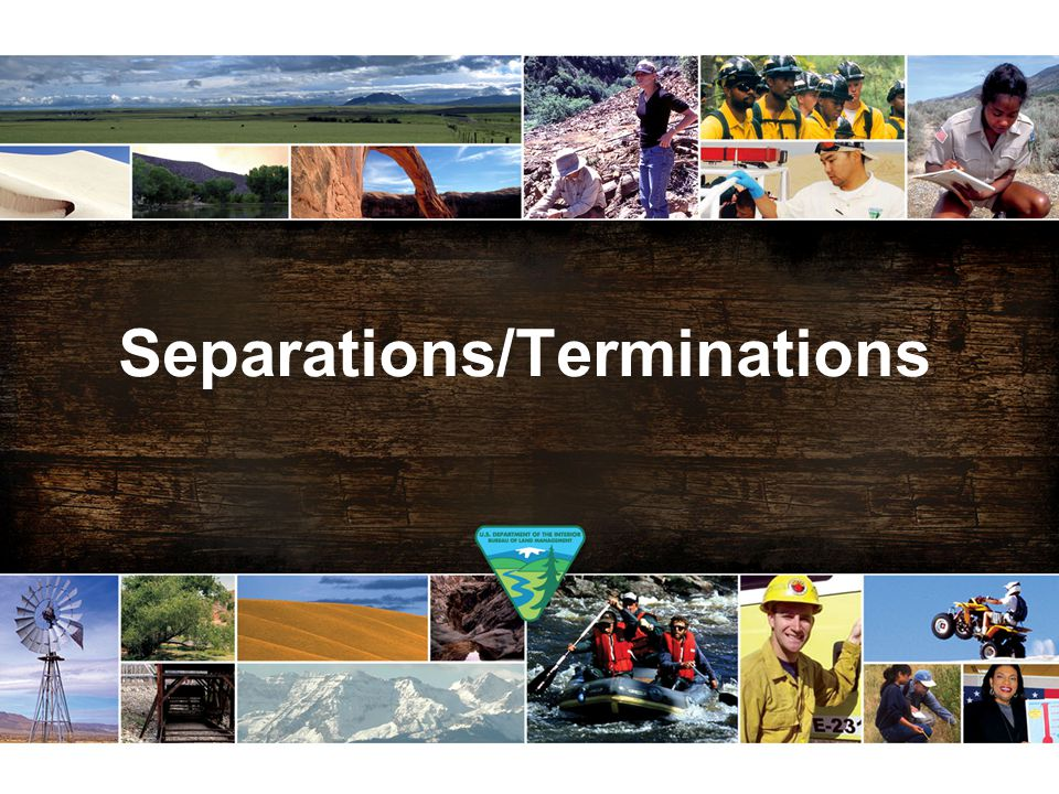 Separations/Terminations