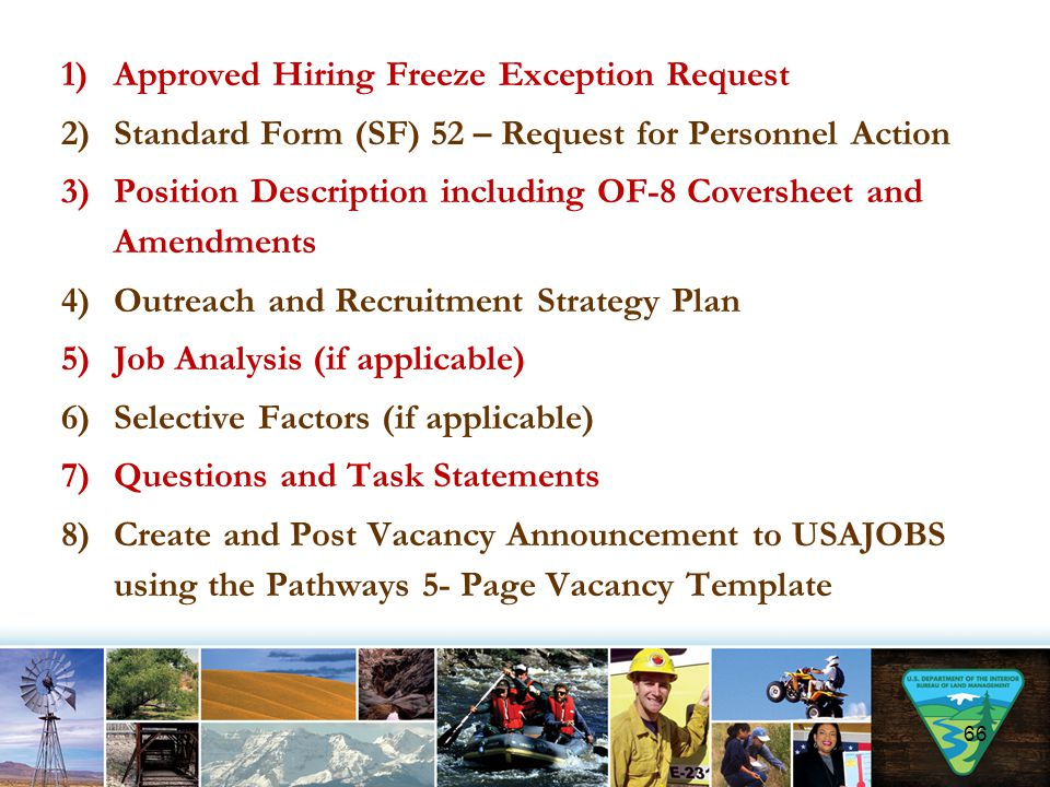 Approved Hiring Freeze Exception Request