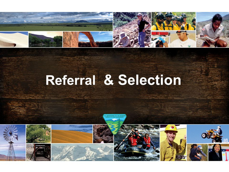 Referral & Selection