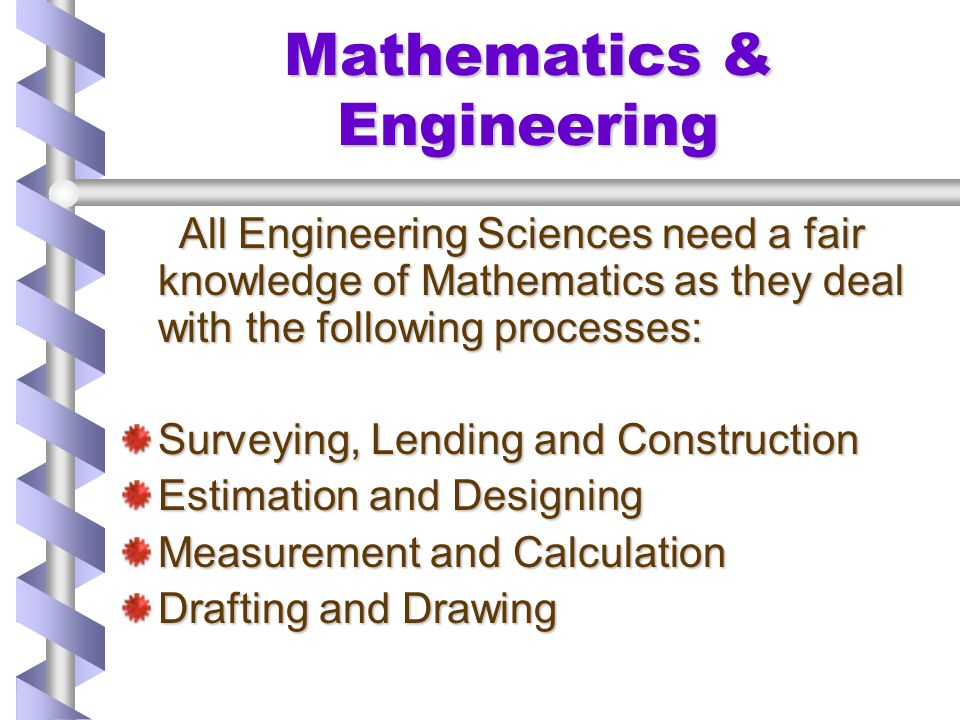 Mathematics & Engineering