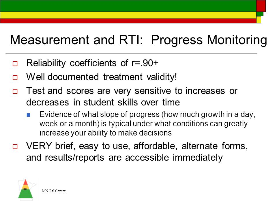 Measurement and RTI: Progress Monitoring