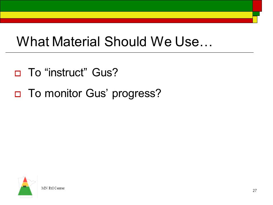 What Material Should We Use…