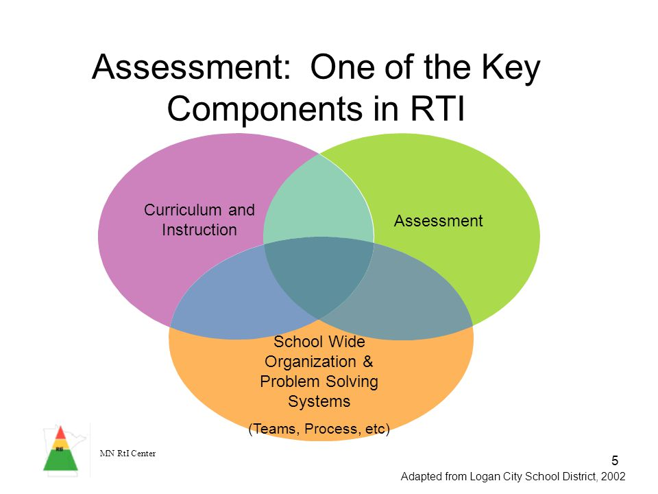 Assessment: One of the Key Components in RTI