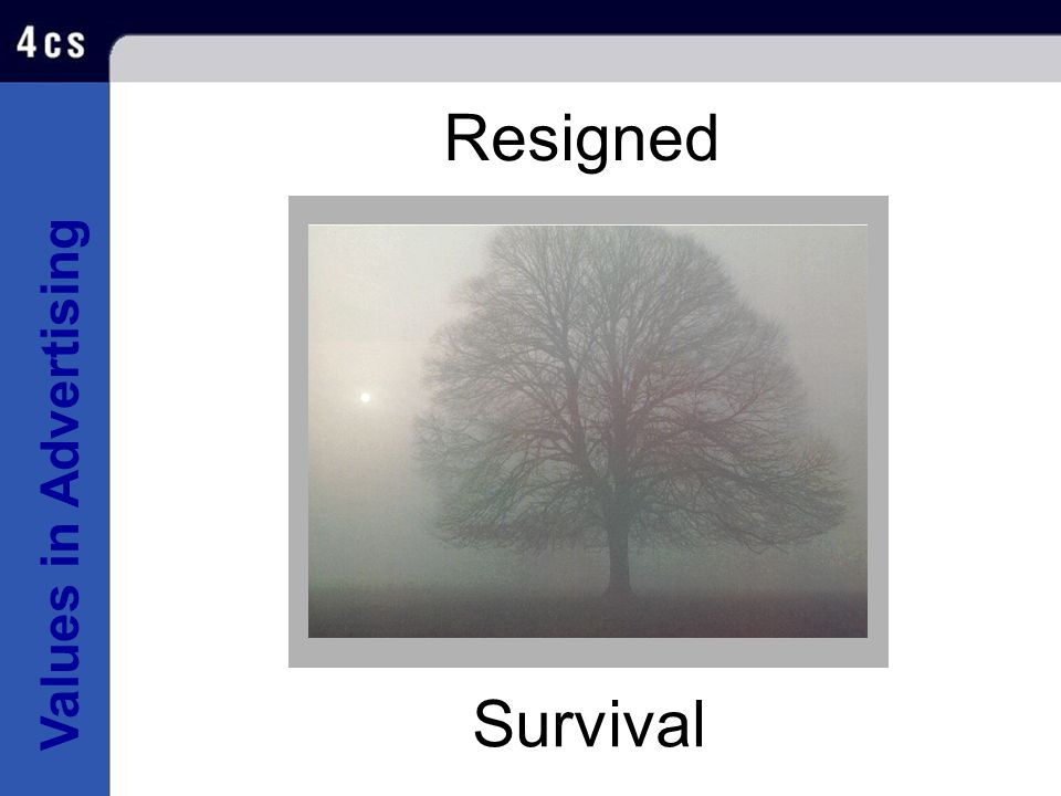 Resigned Survival
