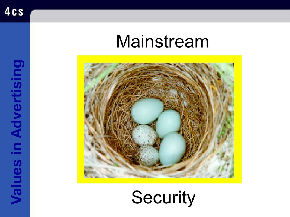 Mainstream Security SECURITY Brand Dimensions