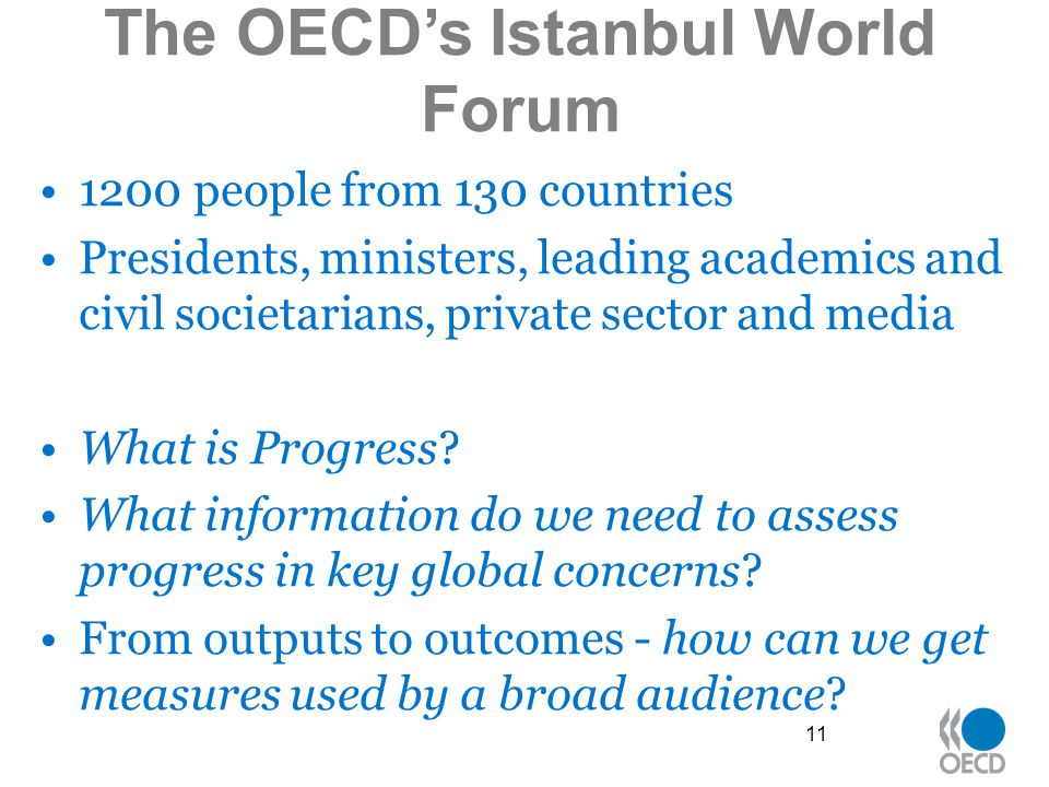 The OECD's Istanbul World Forum