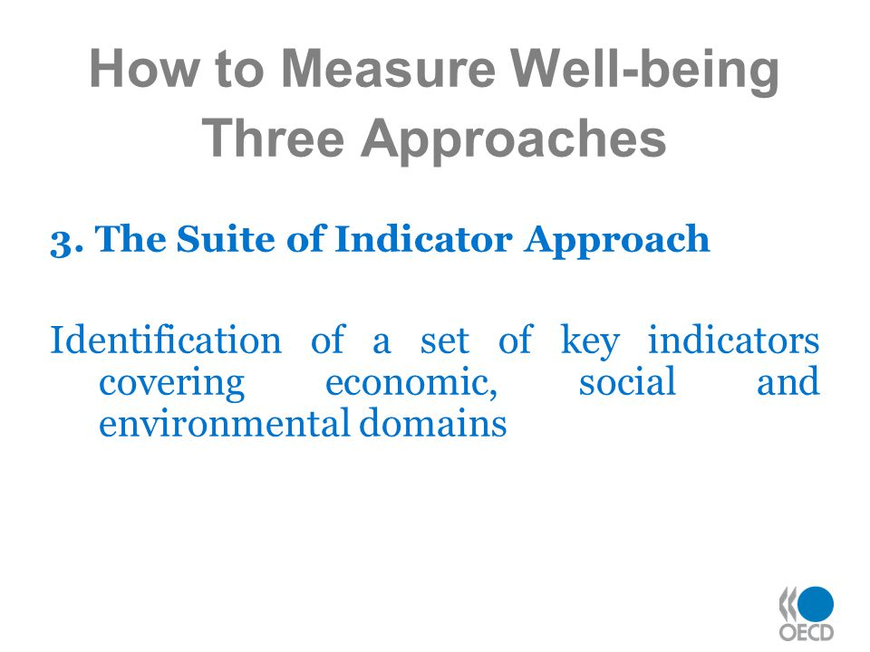 How to Measure Well-being