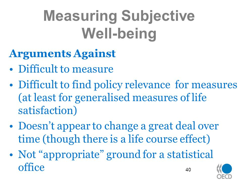 Measuring Subjective Well-being