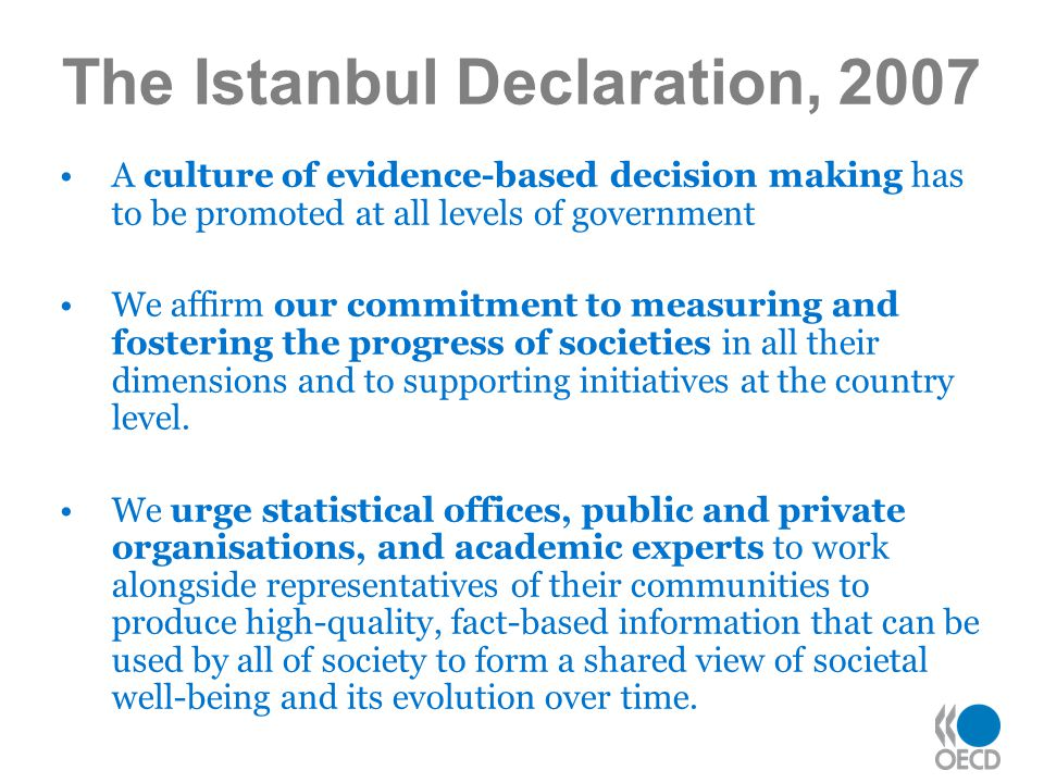The Istanbul Declaration, 2007
